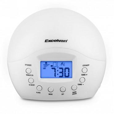 Excelvan нощна лампа алармен часовник
