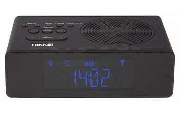 Радиочасовник Nikkei NRDB15BK, DAB+FM стерео