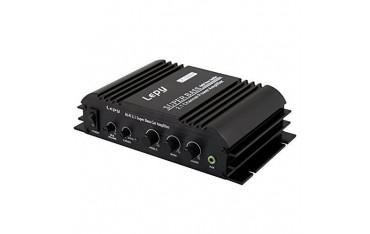Стерео аудио усилвател Lepy LP-168S ,Hi-Fi, за автомобили, мотоциклети, компютри