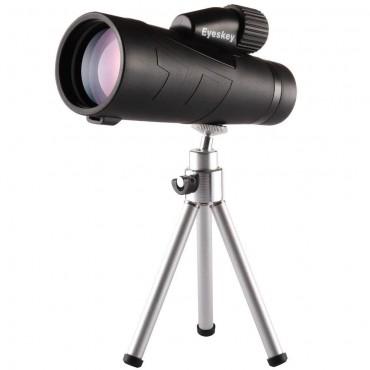 Eyeskey 10X50 монокъл с висока мощност и статив