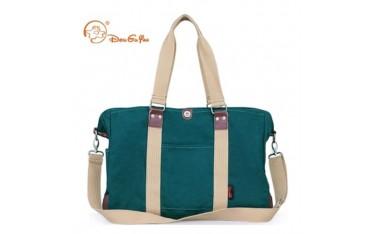 Пътна чанта DOUGUYAN, текстил, зелена