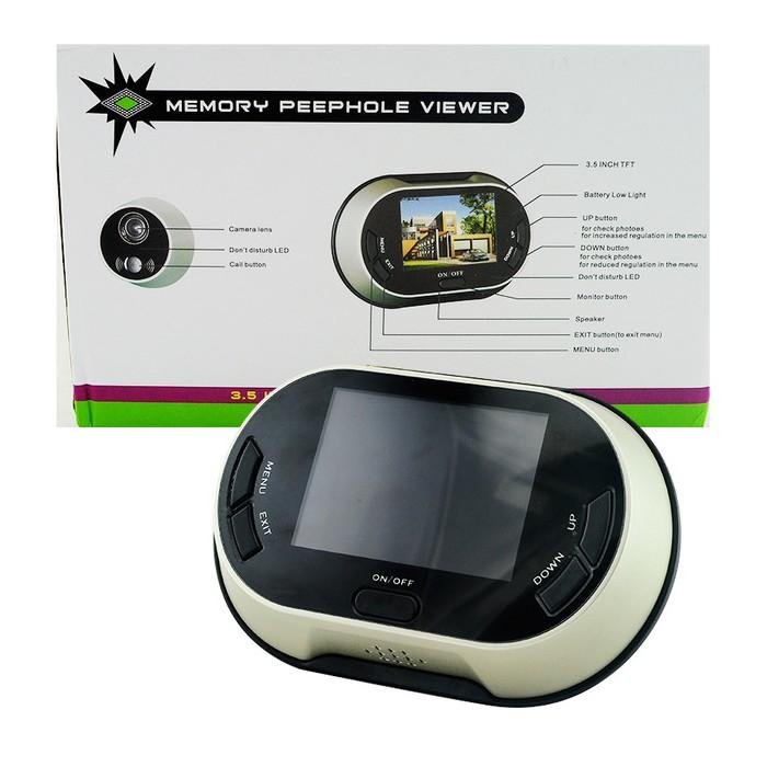 ETUUD Шпионка с LCD дисплей