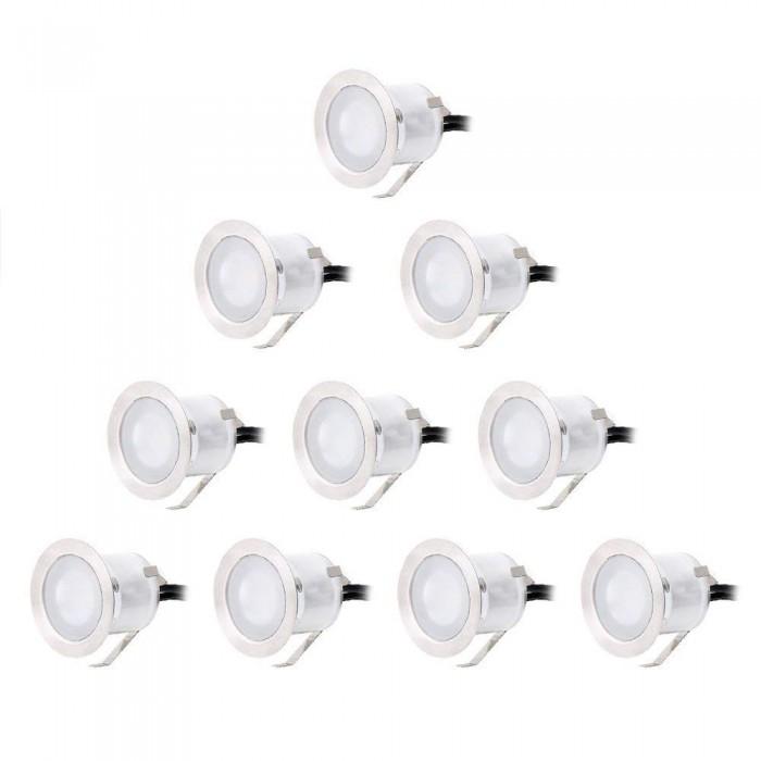 CroLED 10x водоустойчиви прожектори за вграждане