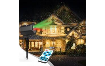 Лазерен Прожектор InnooLight, Водоустойчив, Разстояние до 15 м, Дистанционно