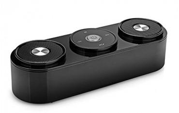 Високоговорител Life Like SDH 400, сензорен, 3D sound, Bluetooth 4.0, FM радио, черен