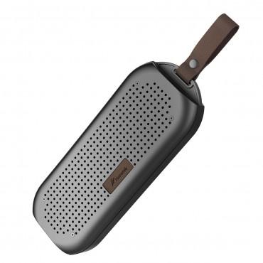 Високоговорител Honstek K5, Bluetooth 4.0, Водоустойчив, 6W, 80 dBA , Стерео, Черен
