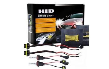Ксенонови Автомобилни крушки HID, Комплект 2 бр и Захранване, 2x55W, ., 2x3200 lm, Водоустойчиви, 6000K Cool White