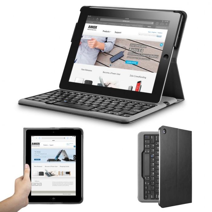 Клавиатура и Калъф за iPad 4/3/2 Anker TC941