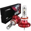 LED крушки за автомобил Koyoso H11, Комплект 2 бр., 2000LM 12V-24V, Philips-6500K , Cool White