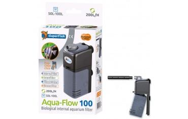 Филтри за аквариум Superfish Aqua Flow 100, за 50L - 100L, 200 L/ h, Черни