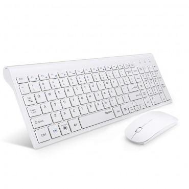Ултра-тънка безжична клавиатура и мишка TopMate KM9000