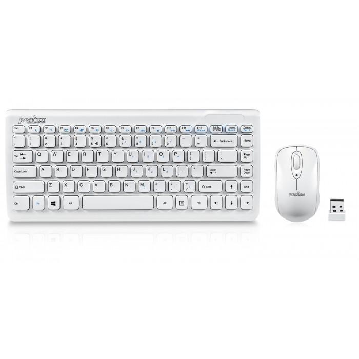 Безжична мини клавиатура и мишка Perixx PERIDUO-707W PLUS