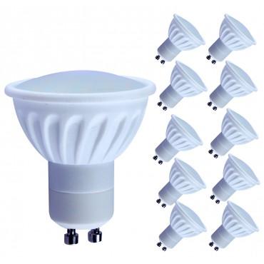LED крушка Gu10 с топла бяла светлина 2700K Lampaous