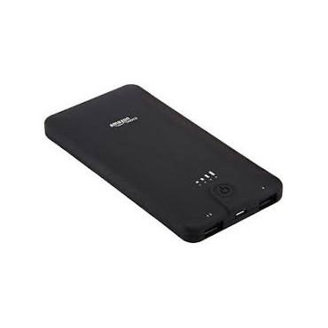 Преносима Батерия Amazon Basics, Li-Pol 10000 mAh, 2xUSB, Черна