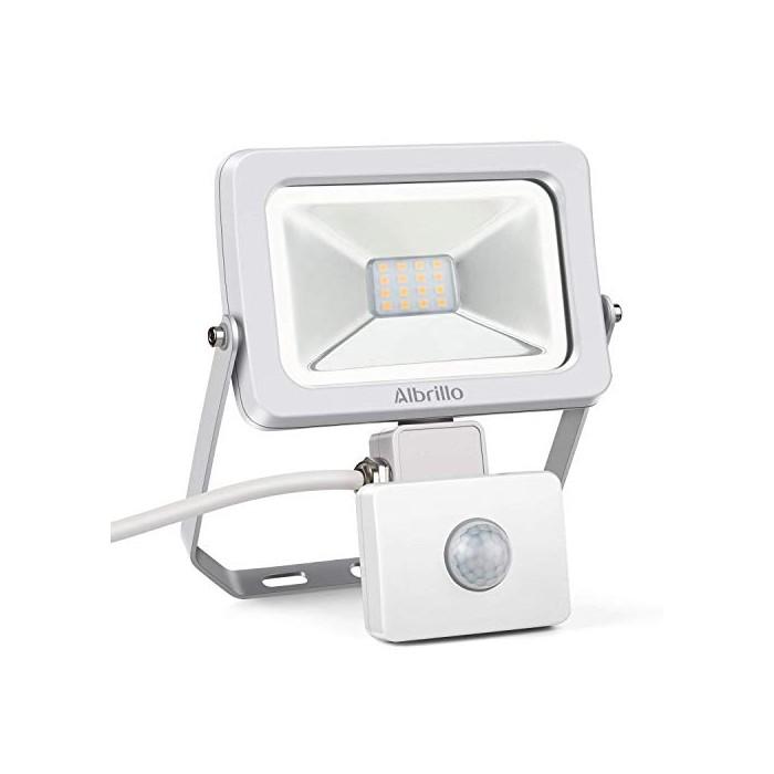 LED прожектор с детектор за движение Albrillo Ultraslim 30W