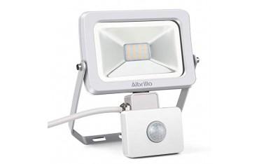 LED Прожектор Albrillo Ultraslim, Детектор за движение, 30 W, Бял