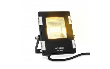 LED Прожектор Albrillo, 10 W, 800 lm, Водоустойчив, Черен