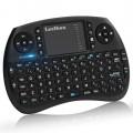 Клавиатура Leelbox, Безжична, 3-в-1, 2.4GHz, Черна
