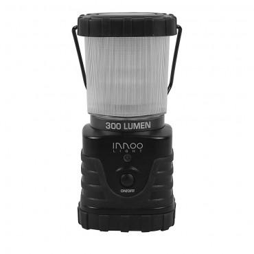 LED Фенер InnooLight, 300lm, Водоустойчив, Черен