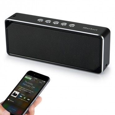 Преносима акумулаторна Bluetooth високоговорител с вграден микрофон iHarbort ih10