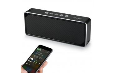 Високоговорител iHarbort ih10, Bluetooth, Вграден микрофон, 4W * 2 , Черен