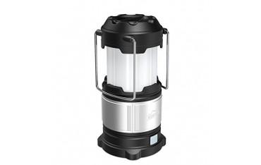 LED Фенер HiHiLL LT-CL01, 4 режима осветление, 185 LM, USB , Водоустойчив, Сребрист черен