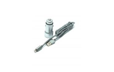 Зарядно устройство за автомобил LDNIO C302, 2 USB порта, Auto-ID технология