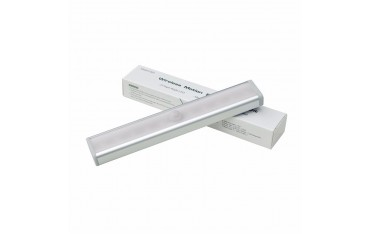 LED осветление Forecum l802, Безжичен сензор за движение, Разстояние 3 м, 3 W , Топла бяла светлина
