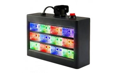 LED RGB Сценично осветление SOLMORE, Автоматично звуково активиране