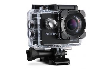 """Спортна Видеокамера VTIN VNOD009AB, 2"""" LTPS LCD, Full HD, 12MP, Водоустойчива, Аксесоари"""