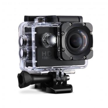 """Спортна Видеокамера VTIN OD009B, 2"""" LTPS LCD, Full HD, 12MP, Водоустойчива, Аксесоари"""