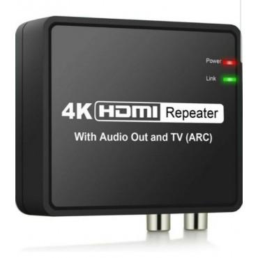 4K HDMI репитер с аудио изход и телевизор (ARC) SOLD