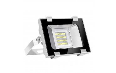 LED Прожектор Viugreum, Водоустойчив, 20W, 2000LM, 6600 К
