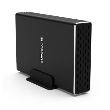 Кутия за Твърд диск GLOTRENDS 25R-C, USB-C 3.1 Gen 2 интерфейс 10Gbps