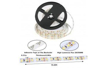 LED Лента Anten, 5m,15Lm, DC12V,SMD 2835 2800-3200K, Топло бяло