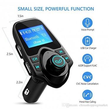 Bluetooth MP3 плейър за кола и FM предавател EINCAR T11