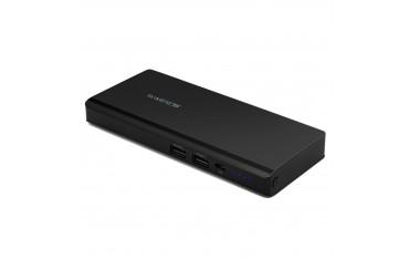 Зарядно устройство Swees RJ-PB08, Смарт 2 USB, 20000mAh