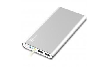 Зарядна батерия JETech 0761, 10 000mAh, 2 USB