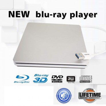 Външно Blu-ray DVD устройство BD-ROM 3D Blu-Ray Combo Player USB Whynter
