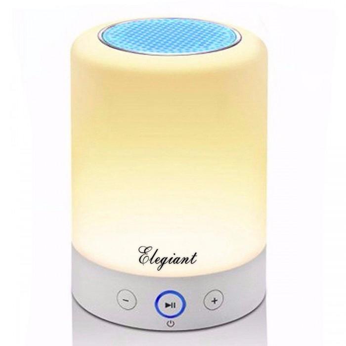 Безжичен високоговорител със светлина ELEGIANT