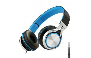 Аудио слушалки Intone Ms200, стерео, сгъваеми