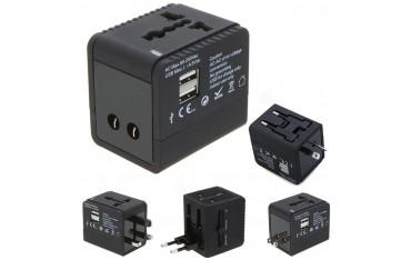 Адаптер за захранване Milool, Универсален, 2 USB