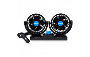 Вентилатор за Автомобил MITCHELL HX-T303, 12V, 360 градуса въртене