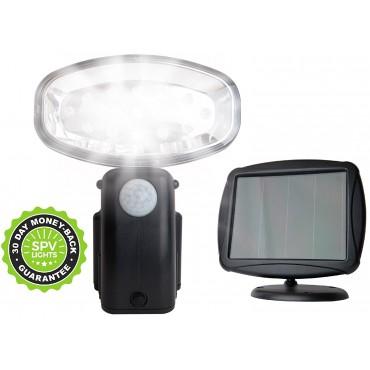 Соларна лампа, LED, Сензор движение, Водоустойчива