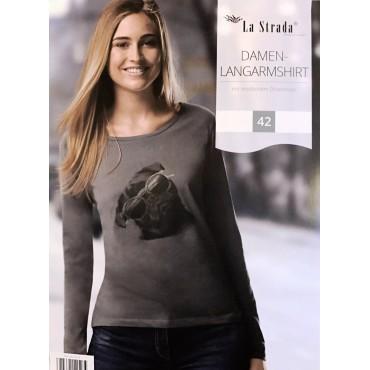 Дамски блуза с дълъг ръкав La Strada