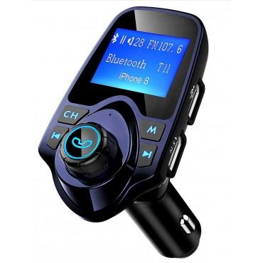FM предавател за автомобил с двойни USB портове PICTEK T11