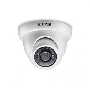 Куполна Камера Zosi, HD, Нощно виждане, Водоустойчива
