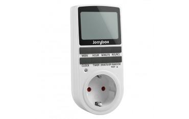 Електрически контакт JERRYBOX, Смарт, Програмируем, Вградена батерия
