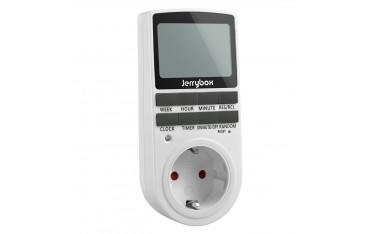 програмируем цифров електрически щепсел 24-часов / 7-дневен таймер JERRYBOX