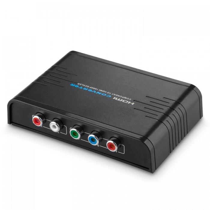 Компонентно аудио видео към HDMI конвертор Musou 5RCA